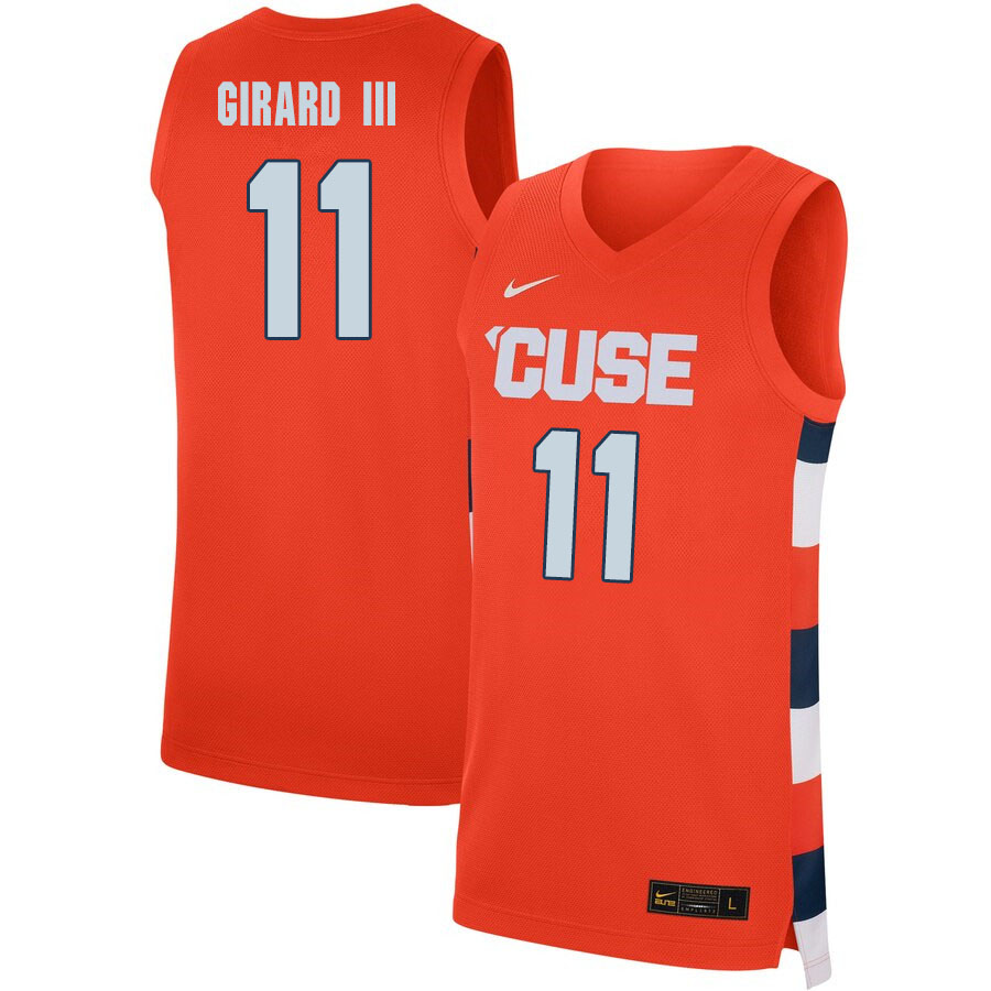 2020 Men #11 Joseph Girard III Syracuse Orange College Basketball Jerseys Sale-Orange