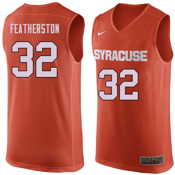 Men #32 Ray Featherston Syracuse Orange College Basketball Jerseys Sale-Orange