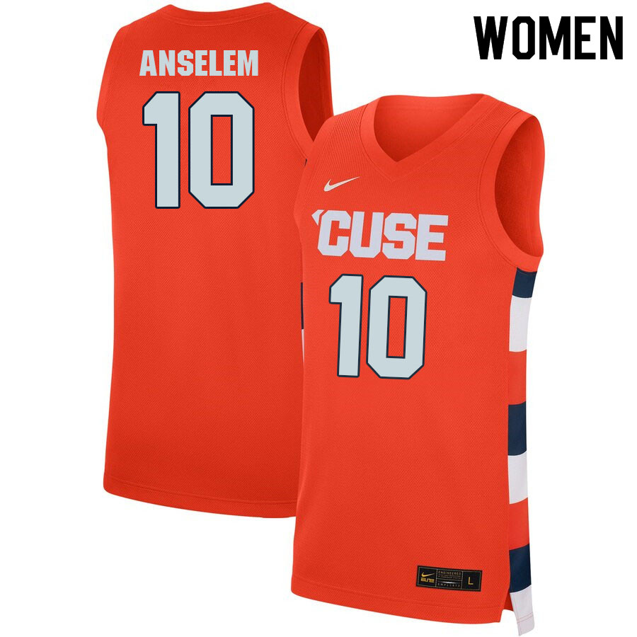 Women #10 Arthur Cordes Syracuse Orange College Basketball Jerseys Sale-Orange